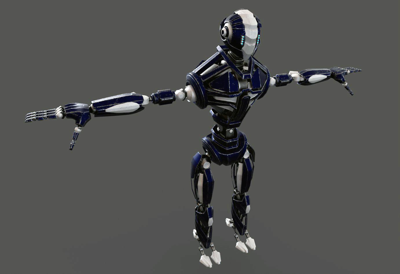 Robot FGV134 V2 3d model  288151
