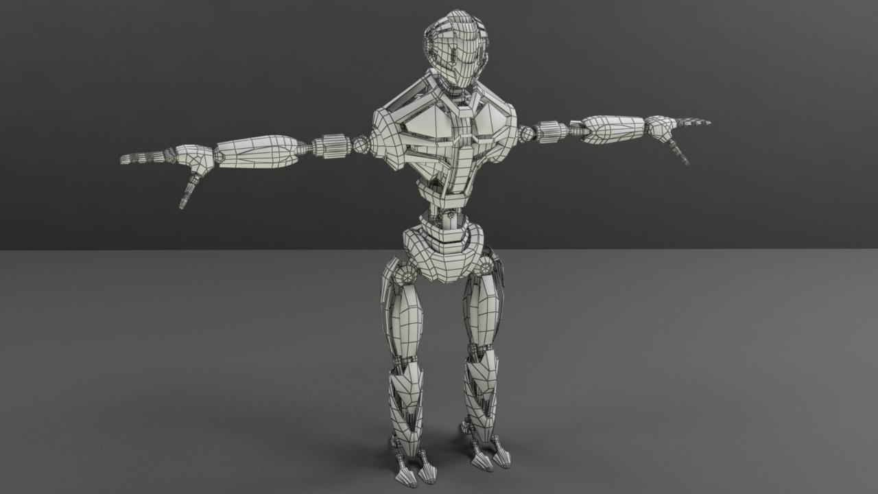 robot fgv134 v2 3d model max obj 288157