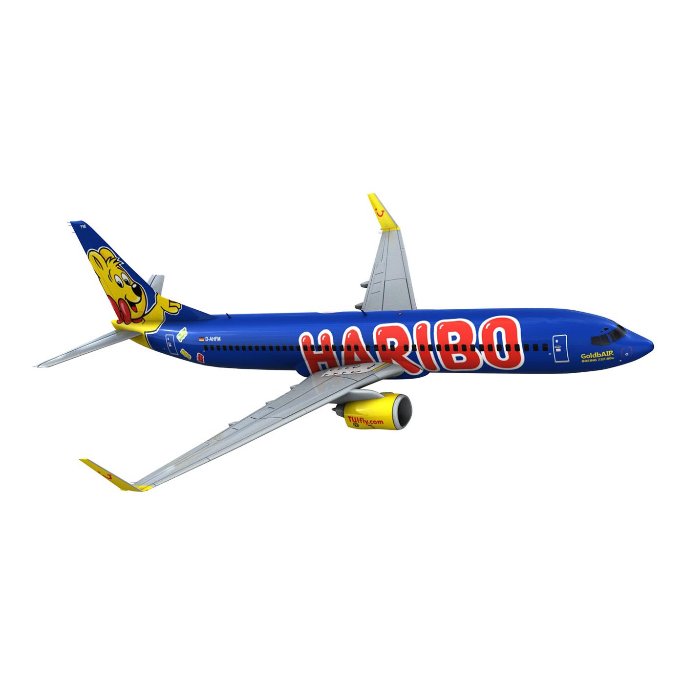 boeing 737-800 goldbair 3d model 3ds fbx c4d lwo obj 293504
