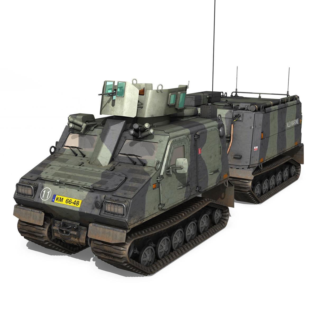 bvs10 viking – netherlands marine corps 3d model 3ds c4d lwo obj 293516