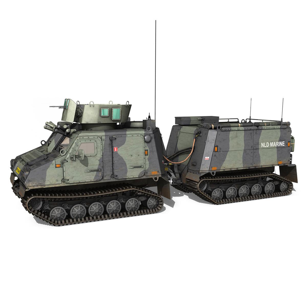 bvs10 viking – netherlands marine corps 3d model 3ds c4d lwo obj 293517