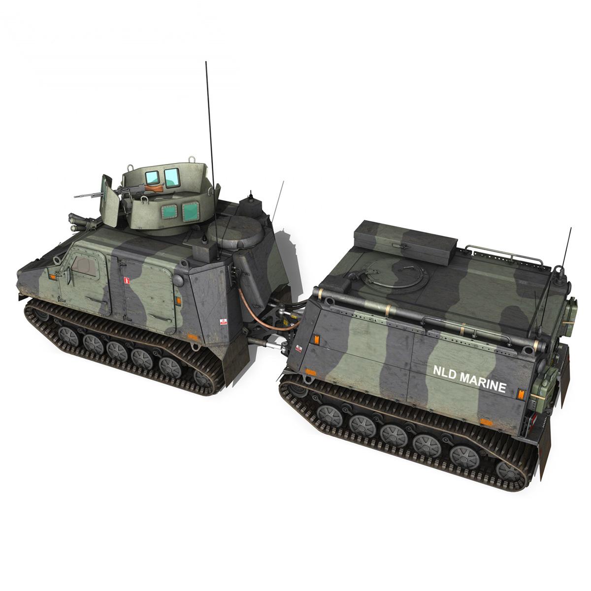 bvs10 viking – netherlands marine corps 3d model 3ds c4d lwo obj 293518