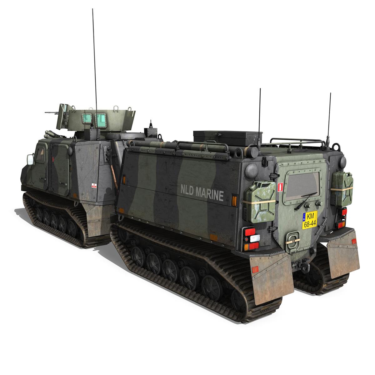 bvs10 viking – netherlands marine corps 3d model 3ds c4d lwo obj 293519