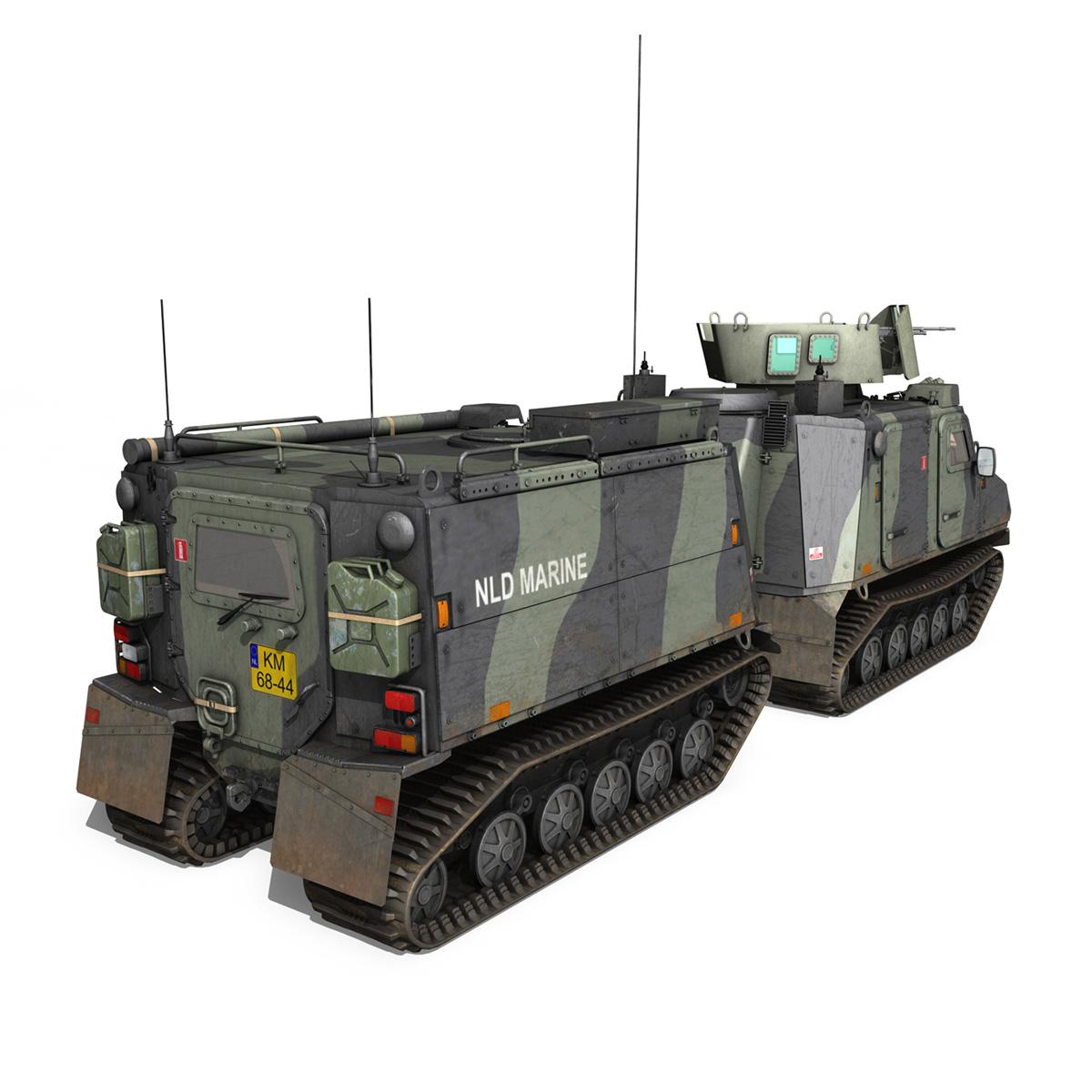 bvs10 viking – netherlands marine corps 3d model 3ds c4d lwo obj 293520