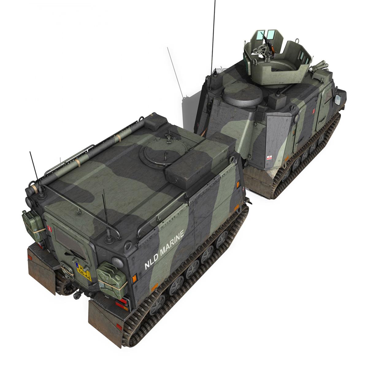 bvs10 viking – netherlands marine corps 3d model 3ds c4d lwo obj 293521