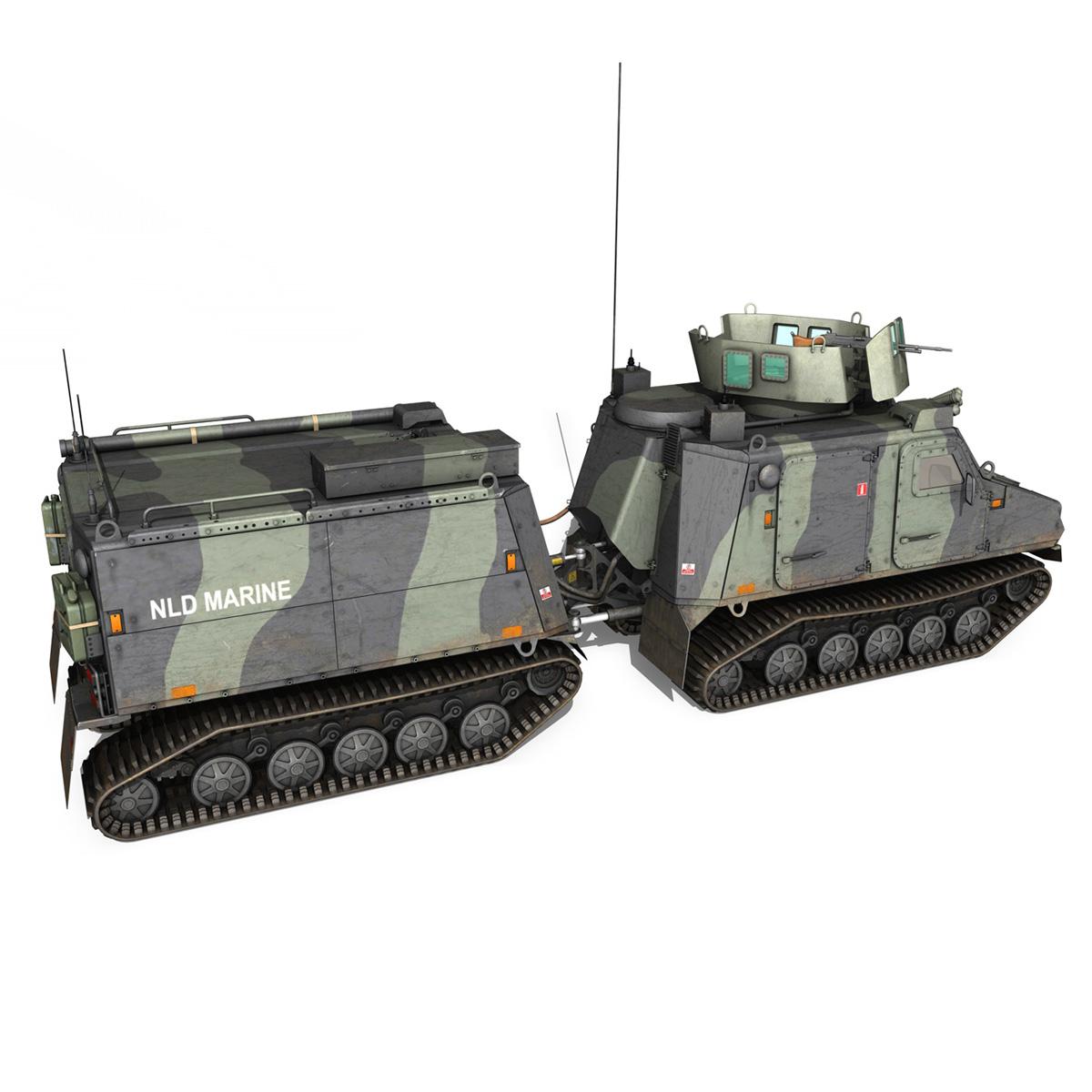 bvs10 viking – netherlands marine corps 3d model 3ds c4d lwo obj 293522