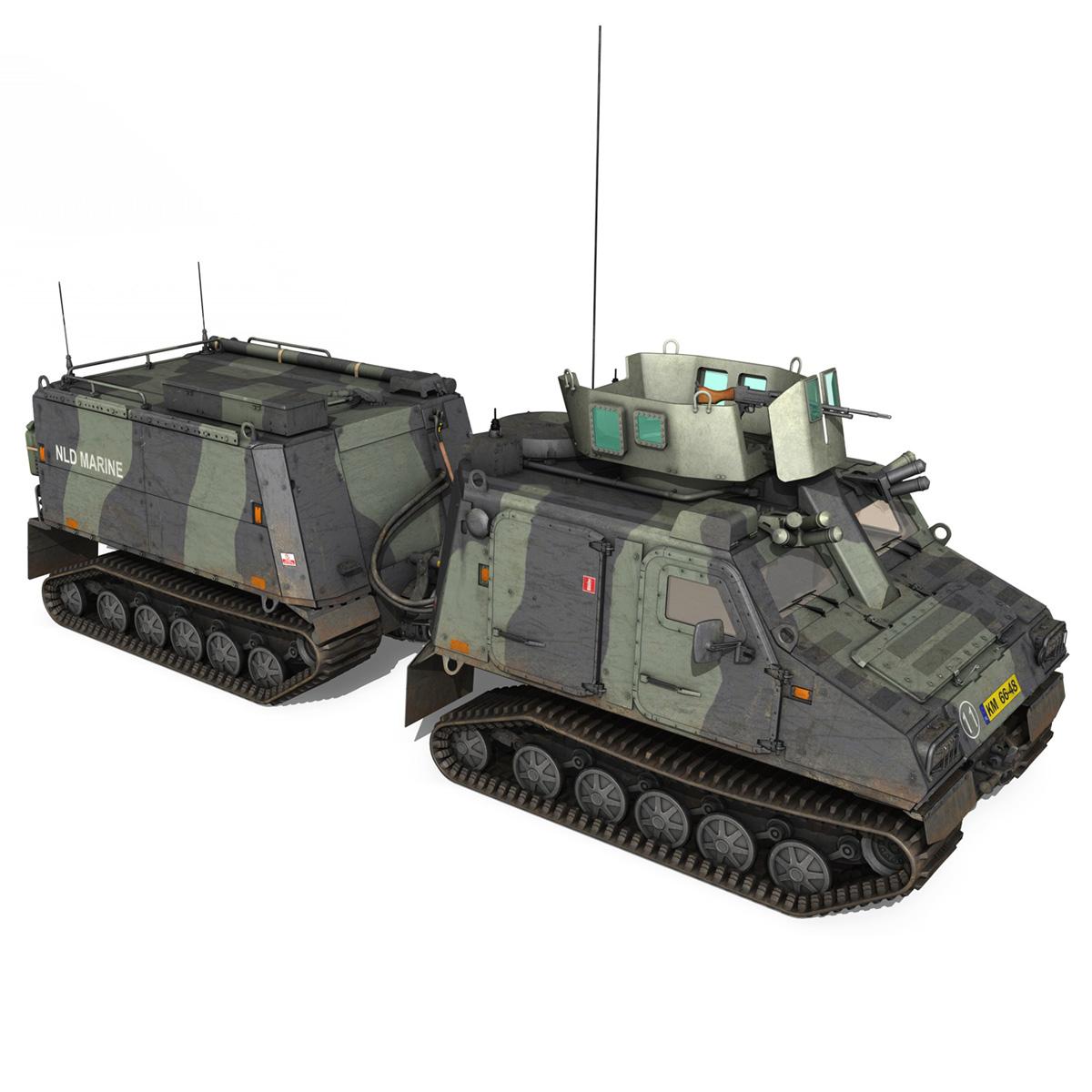 bvs10 viking – netherlands marine corps 3d model 3ds c4d lwo obj 293523