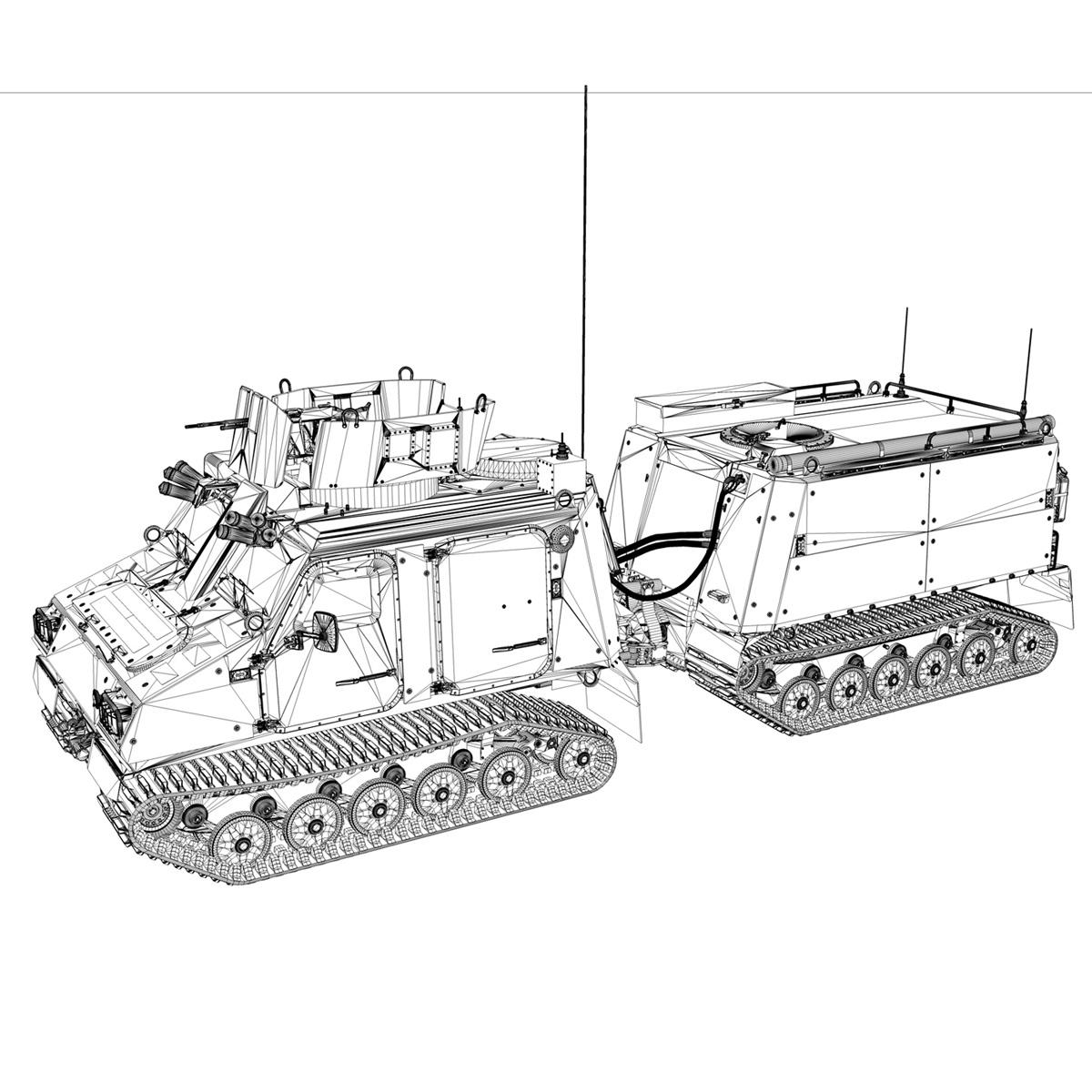 bvs10 viking – netherlands marine corps 3d model 3ds c4d lwo obj 293526