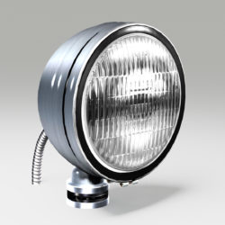 OFF ROAD FOG LIGHT 1 SILVER 3d model 3ds max fbx blend c4d ma mb obj 293608