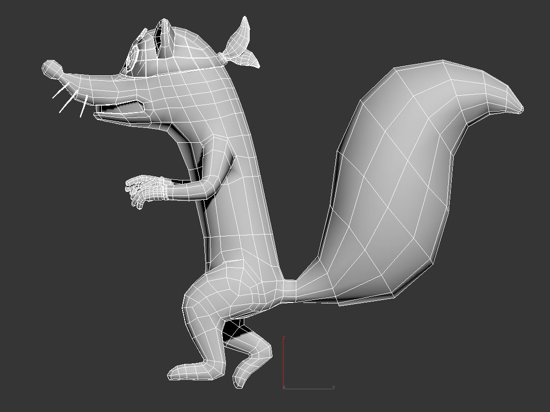 swiper the fox 3d model max fbx c4d jpeg jpg lxo  obj 293709
