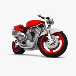 suzuki street fighter motorcycle 3d model 3ds max fbx obj 293866