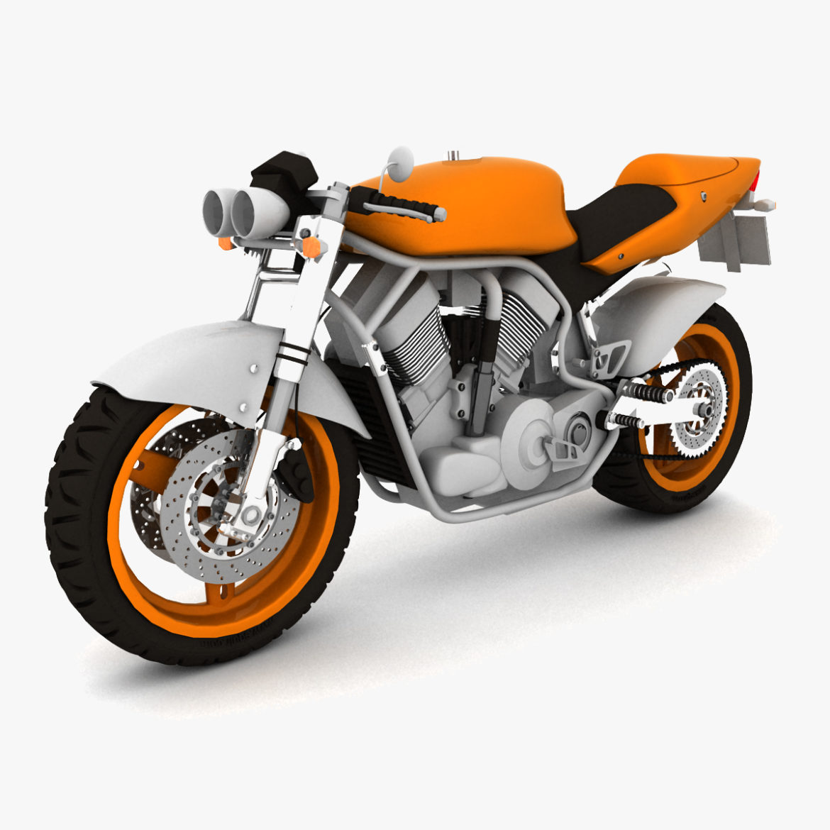 suzuki street fighter motorcycle 3d model 3ds max fbx obj 293868