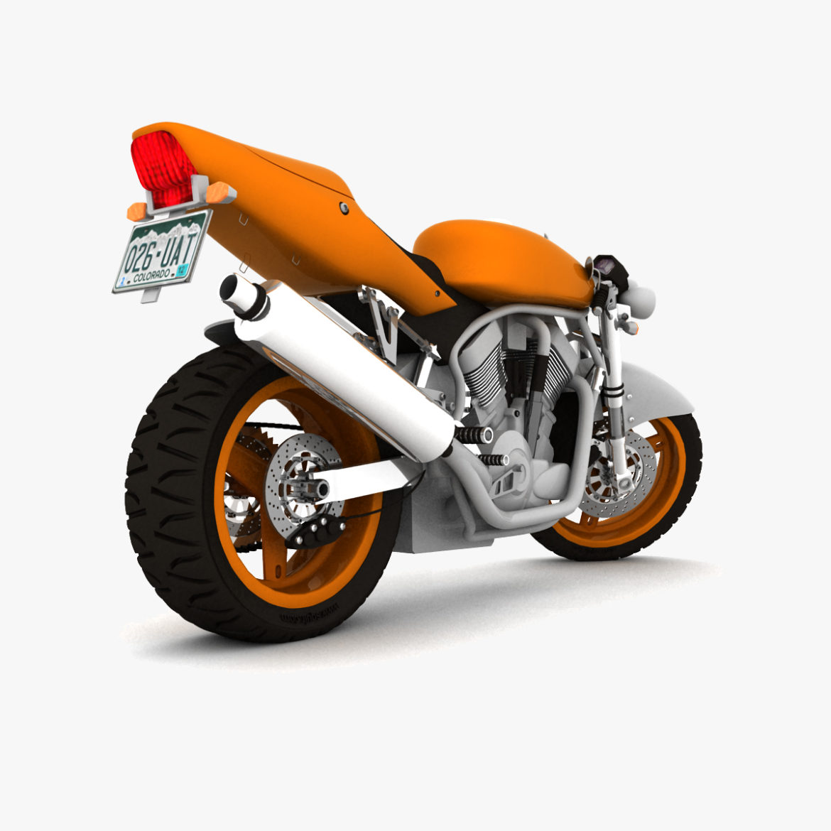 suzuki street fighter motorcycle 3d model 3ds max fbx obj 293873
