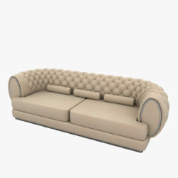 luxury sofa 3d model 3ds max fbx obj 293911