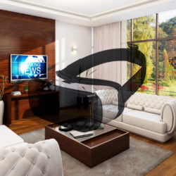 Cubic for Cardboard-Virtual reality Living Room 3d model max 293927