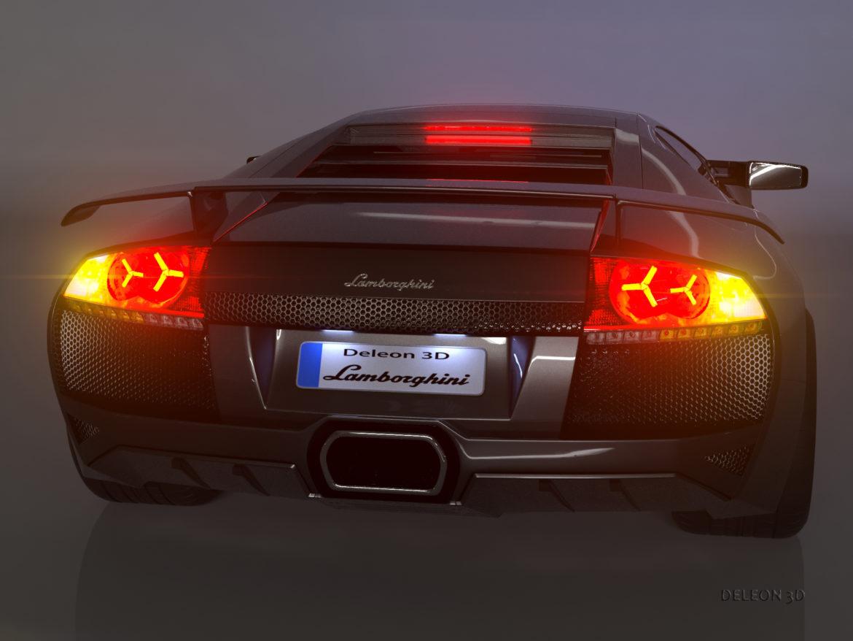 lamborghini murcielago car 3d model max fbx jpeg jpg lxo  obj 293931