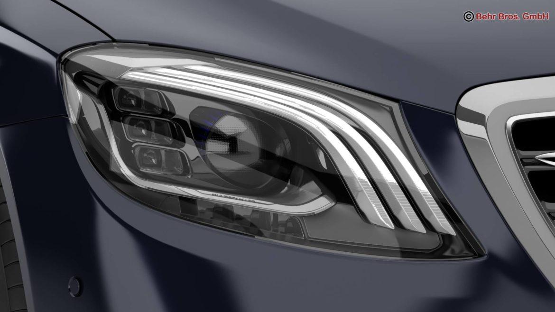 mercedes s class amg s65 2018 3d model 3ds max fbx c4d lwo ma mb obj 293977