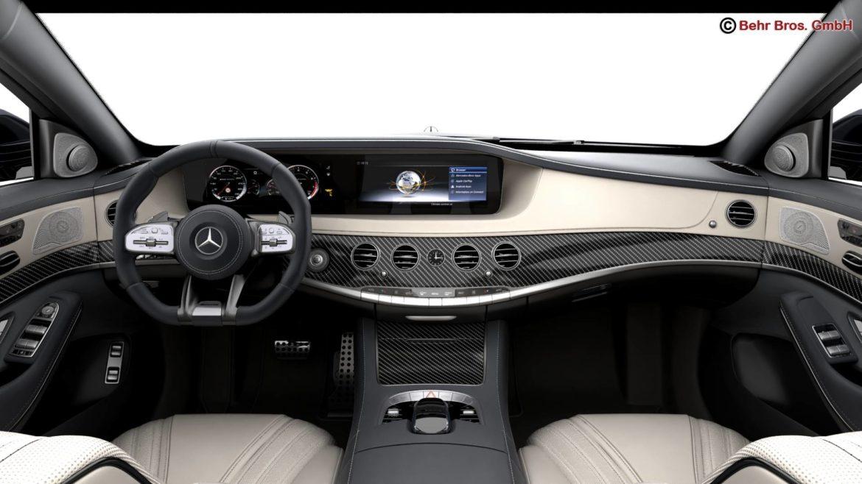 mercedes s class amg s65 2018 3d model 3ds max fbx c4d lwo ma mb obj 293981