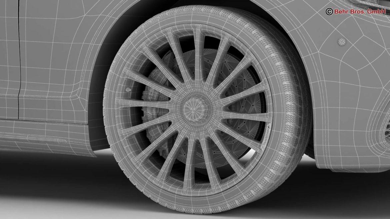 mercedes s class amg s65 2018 3d model 3ds max fbx c4d lwo ma mb obj 293991