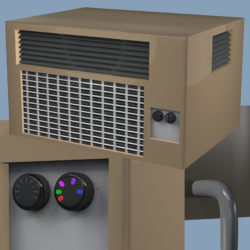 ac-unit object 3d model other obj 294157