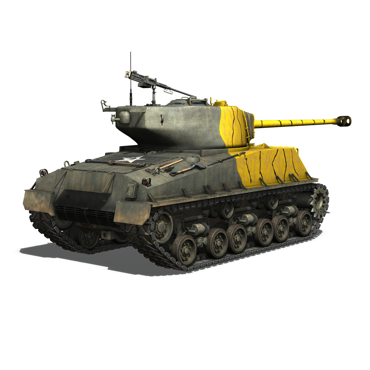 M4A3E8 Sherman – Easy Eight – Korea