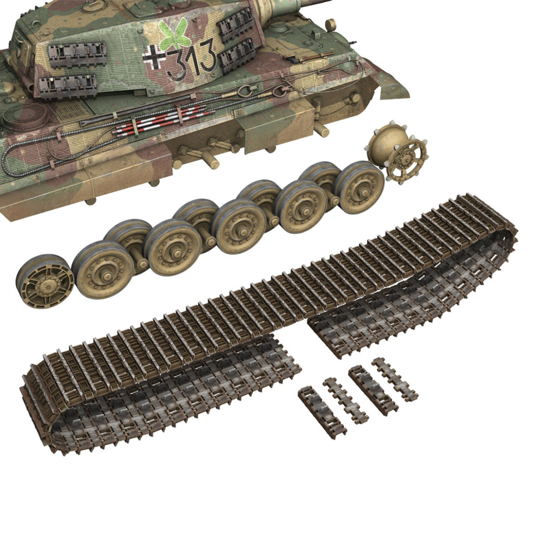 panzerkampfwagen vi – ausf b – tiger ii – 313 3d model 3ds c4d lwo obj 294561