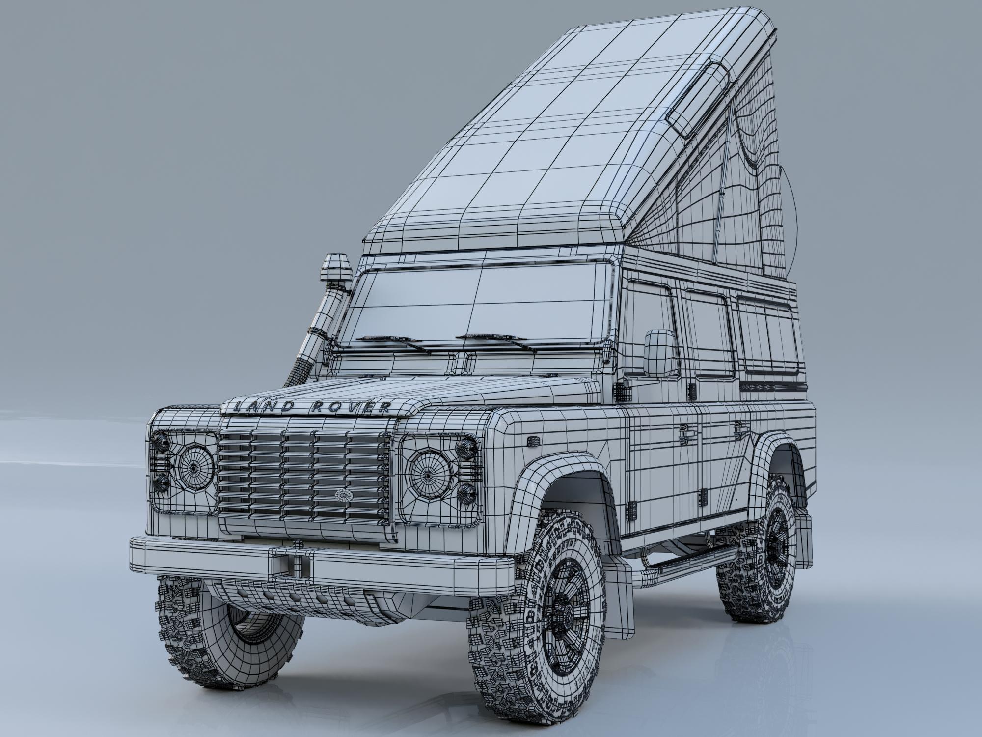 Land Rover Defender 110 Camper