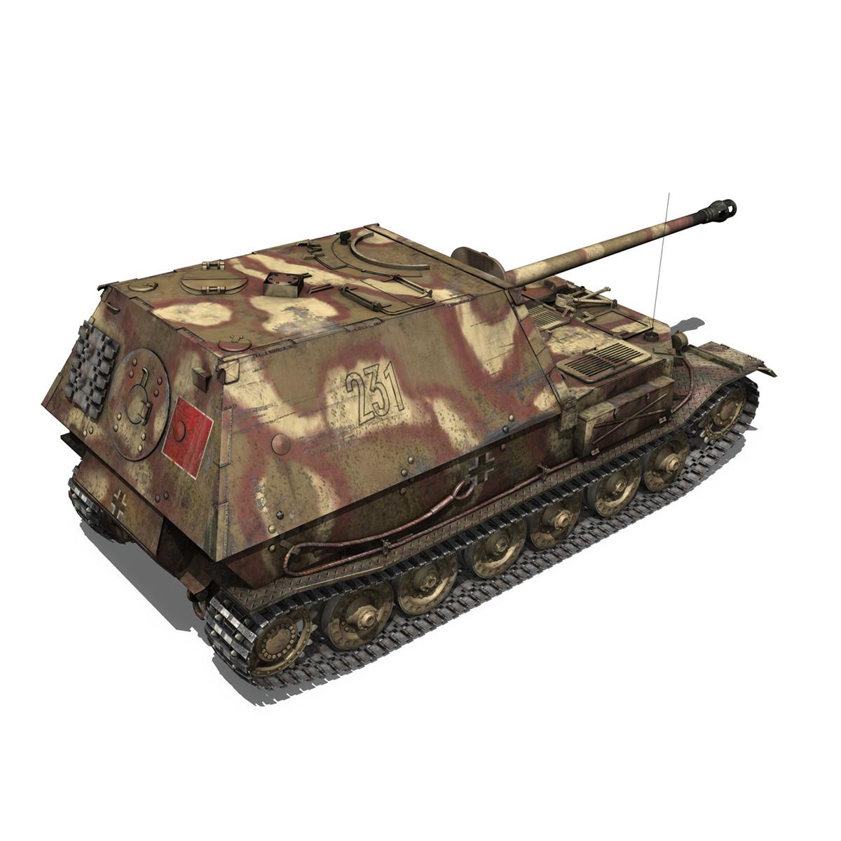 Ferdinand Tank destroyer – Tiger (P) – 231