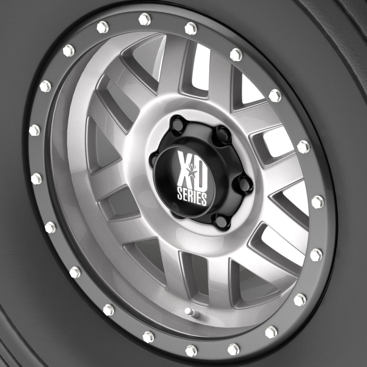 off road wheel and tire 9 3d model 3ds max fbx obj 295113