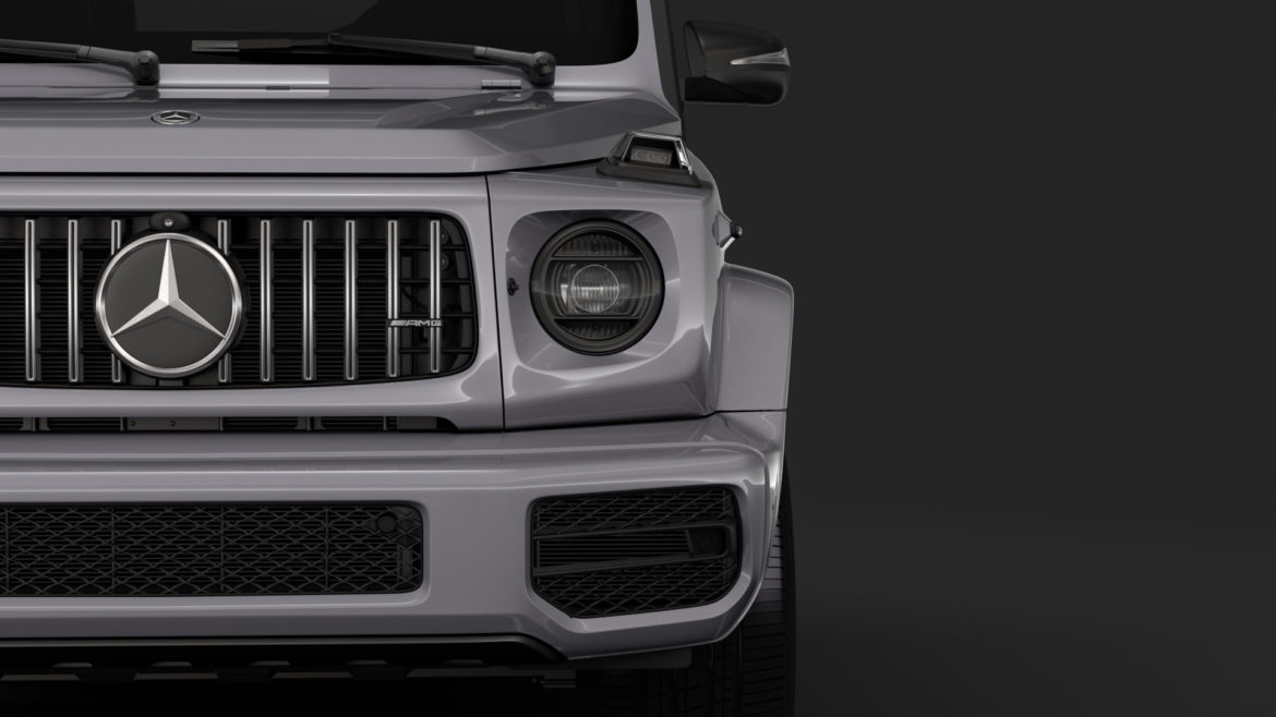 mercedes-amg g 63 night packet w464 2018 3d model 3ds max fbx c4d lwo ma mb hrc xsi obj 295398