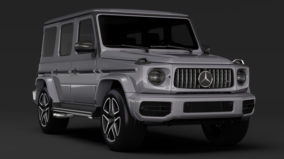 mercedes-amg g 63 night packet w464 2018 3d model 3ds max fbx c4d lwo ma mb hrc xsi obj 295399
