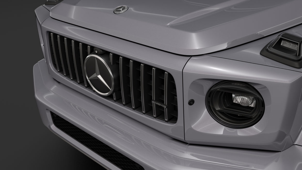 mercedes-amg g 63 night packet w464 2018 3d model 3ds max fbx c4d lwo ma mb hrc xsi obj 295401