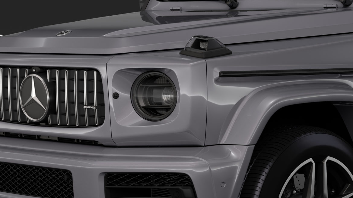 mercedes-amg g 63 night packet w464 2018 3d model 3ds max fbx c4d lwo ma mb hrc xsi obj 295402
