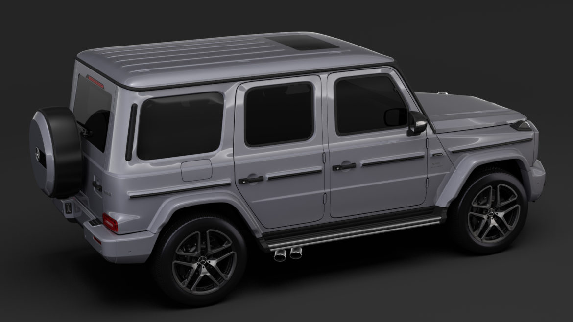 mercedes-amg g 63 night packet w464 2018 3d model 3ds max fbx c4d lwo ma mb hrc xsi obj 295403