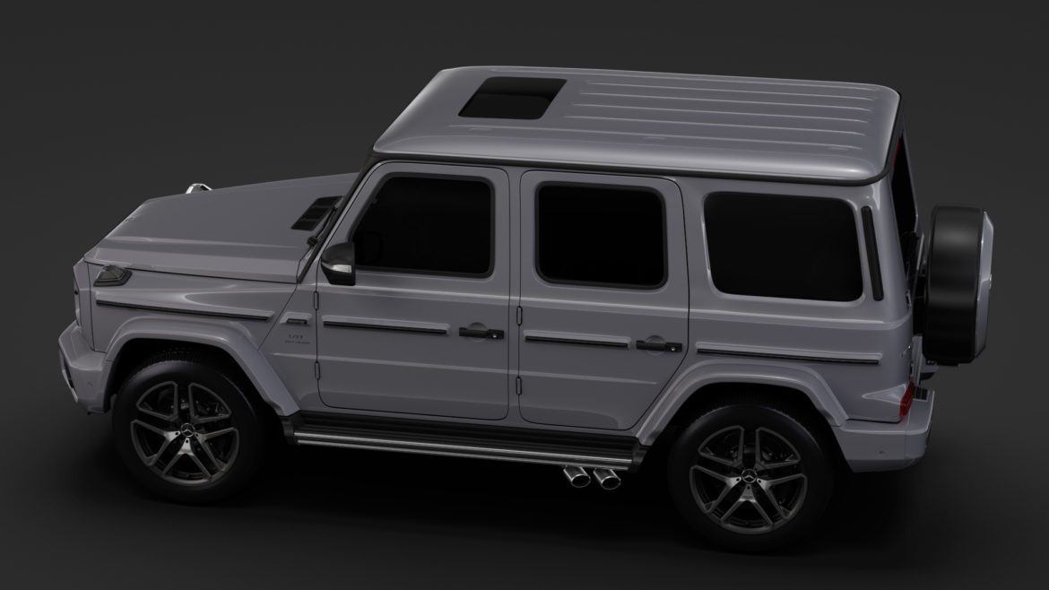 mercedes-amg g 63 night packet w464 2018 3d model 3ds max fbx c4d lwo ma mb hrc xsi obj 295404