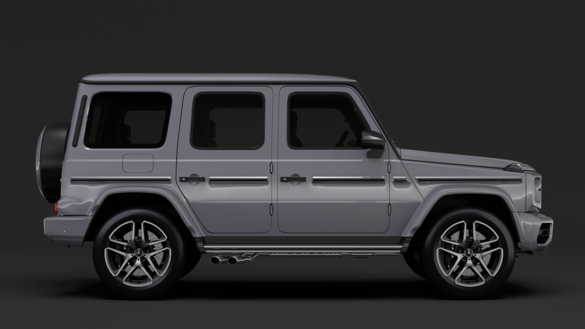 mercedes-amg g 63 night packet w464 2018 3d model 3ds max fbx c4d lwo ma mb hrc xsi obj 295405