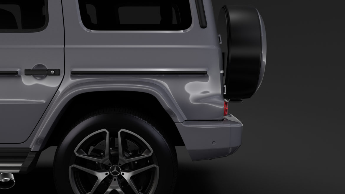 mercedes-amg g 63 night packet w464 2018 3d model 3ds max fbx c4d lwo ma mb hrc xsi obj 295406