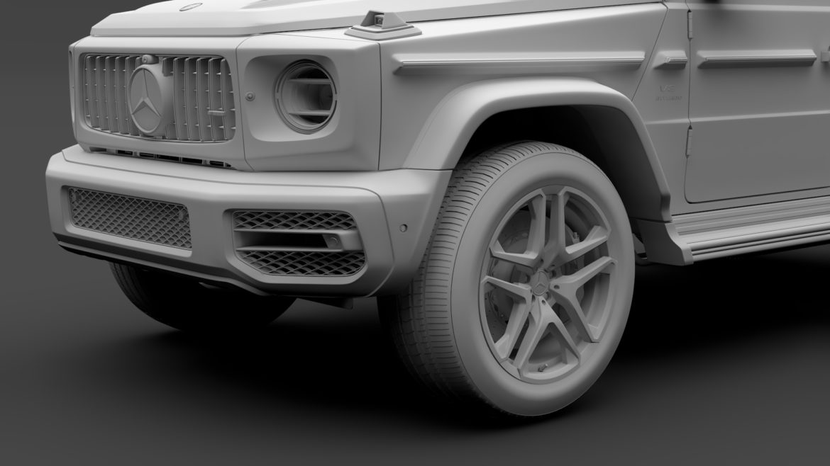 mercedes-amg g 63 night packet w464 2018 3d model 3ds max fbx c4d lwo ma mb hrc xsi obj 295409