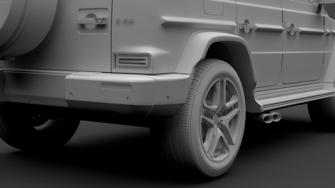 mercedes-amg g 63 night packet w464 2018 3d model 3ds max fbx c4d lwo ma mb hrc xsi obj 295413