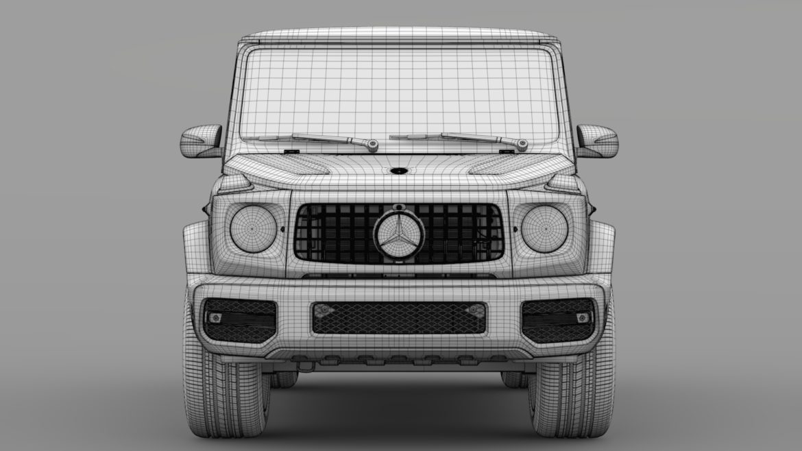 mercedes-amg g 63 night packet w464 2018 3d model 3ds max fbx c4d lwo ma mb hrc xsi obj 295418
