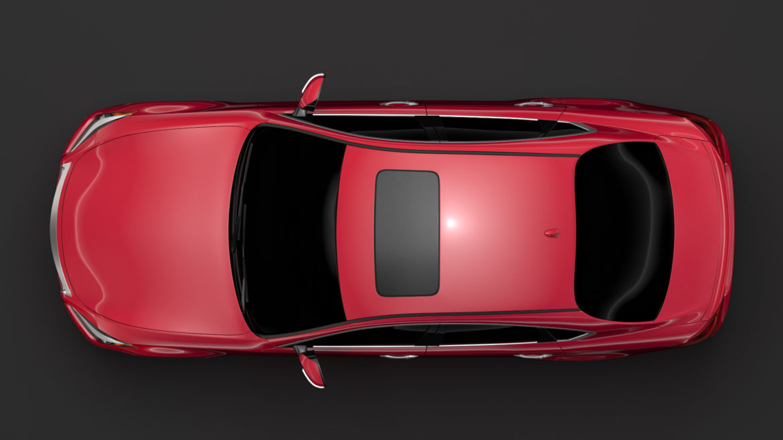 mitsubishi proudia s 2018 3d model 3ds max fbx c4d lwo ma mb hrc xsi obj 295559