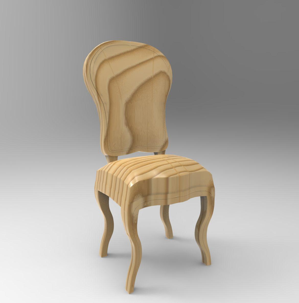 chair chapender-7 3d model max obj 295874