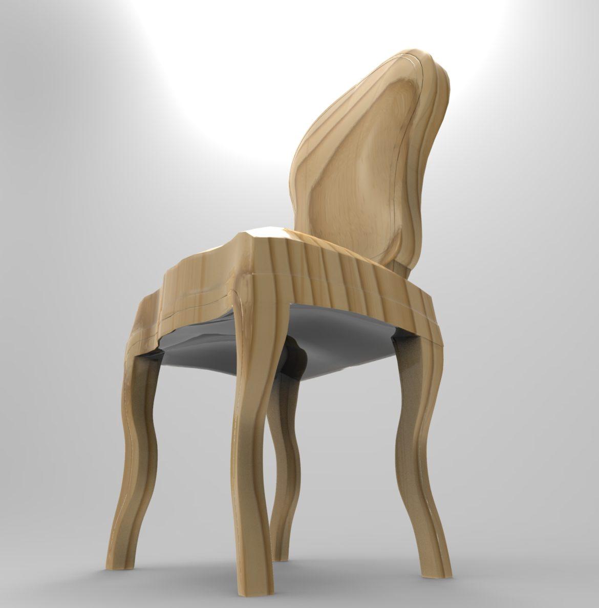 chair chapender-7 3d model max obj 295876