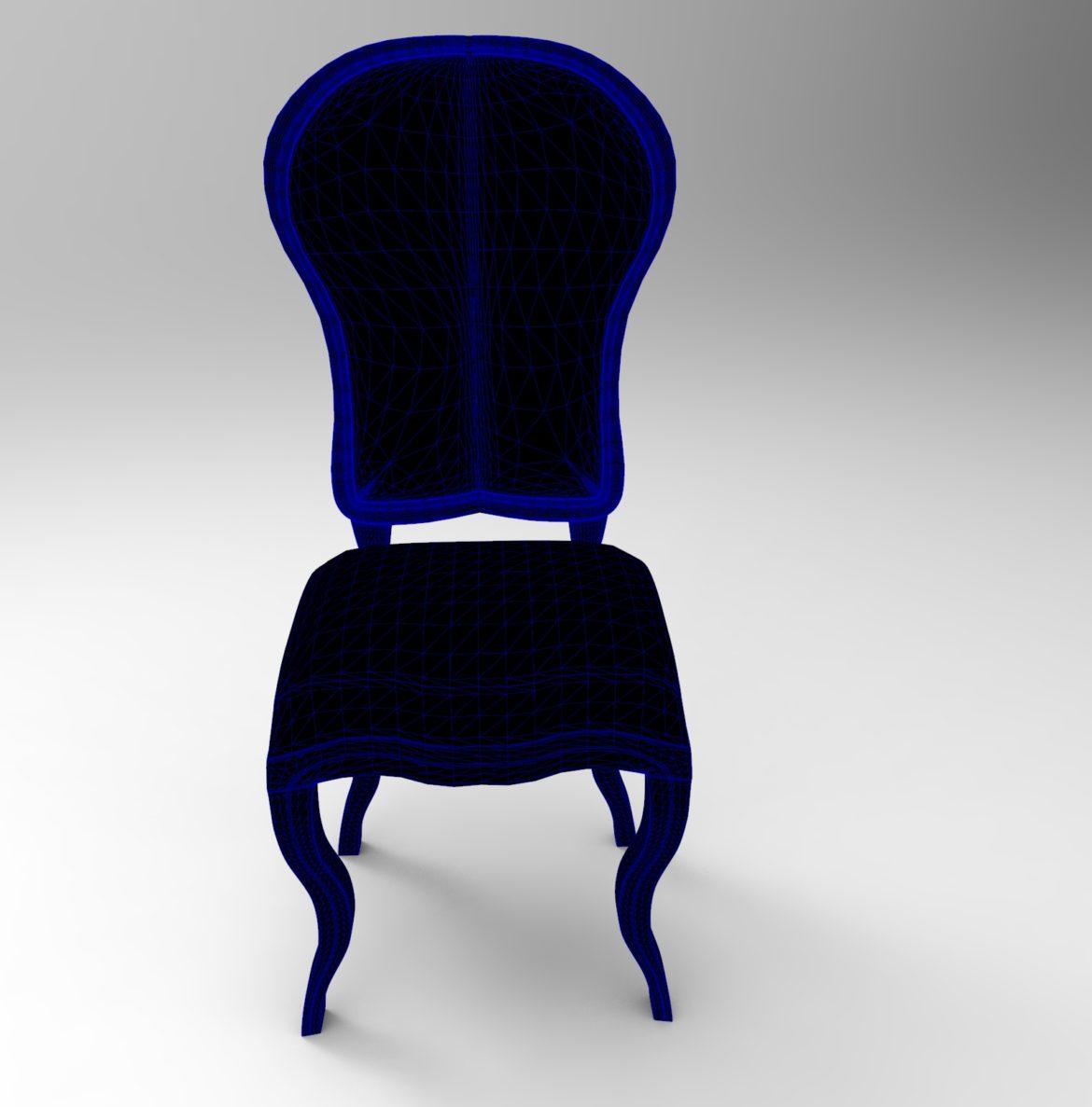 chair chapender-7 3d model max obj 295878