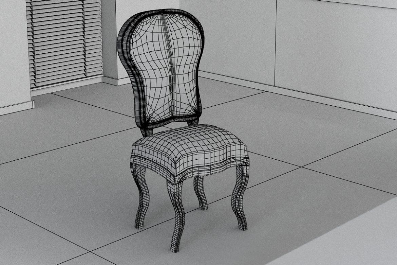 chair chapender-7 3d model max obj 295879