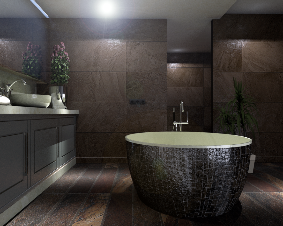 bathroom-13 3d model skp obj 295947