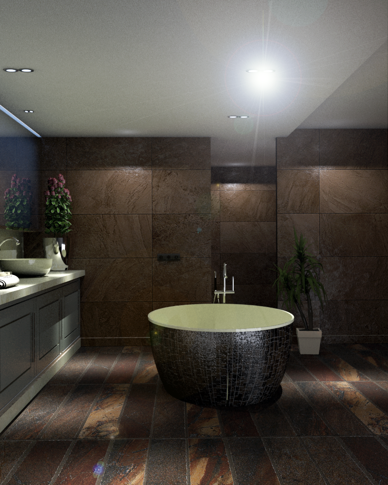 bathroom-13 3d model skp obj 295950