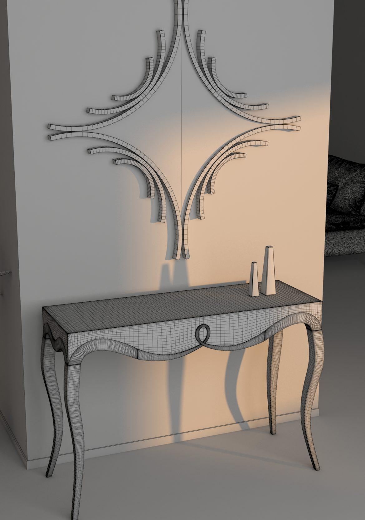 classic table 1-14 3d model max obj 295962
