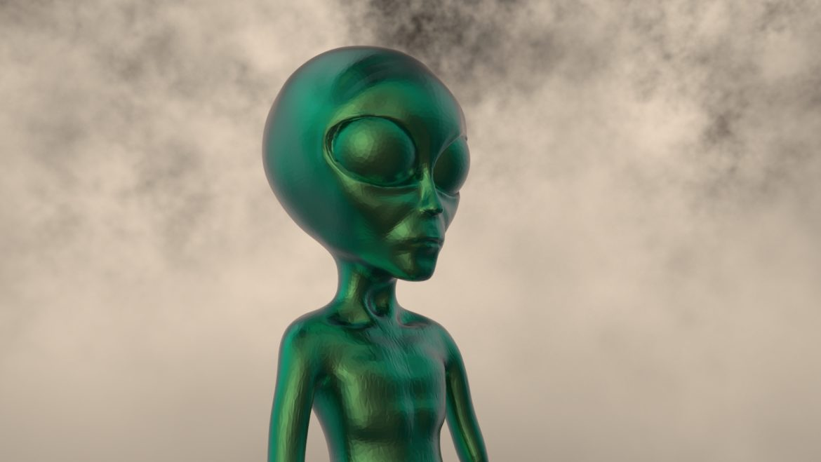 alien – 15 3d model obj ztl 295968