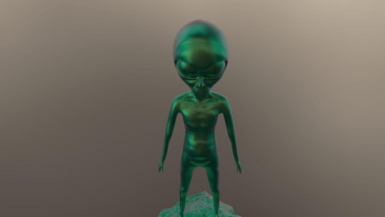 alien – 15 3d model obj ztl 295973